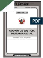 Còdigo Justicia Militar