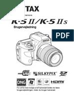Pentax K-5 II brugervejledning (Dansk)