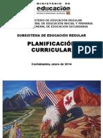 Planificacion Curricular Cbba 2014 - PRIMARIA 25 Enero
