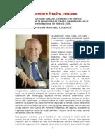 Fernando García de Cortázar - El Hombre Hecho Cenizas