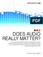 scn biamp does audio matter research white paper