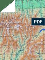 Harta Fagarasului Est 57x57cm 16septembrie2012