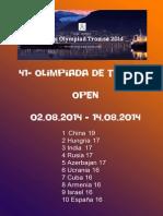 Olimpiada de Troms+© 2014 open