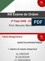 Material de Apoio - Prof. Marcelo_Marineli_Obrigacoes2 - 2a Fase