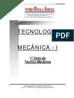 Tecnologia Mecânica I (ETE Piracicaba, 2000)