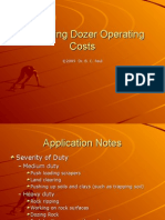 Estimating Dozer Operating Costs