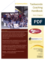 Taekwando Coach Handbook