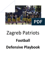 Zagreb Patriots Defensive Play Book