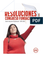 Union Nacional de Estudiantes Chile - Resoluciones