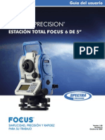 Manual Spectra Phisic Focus 6