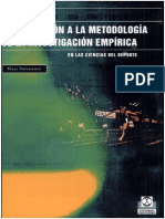 Introduccion a La Metodología de La Investigacion Empirica de Las Ciencias