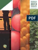 Reporte de sustentabilidad 2013 Monsanto.