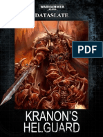 Dataslate-Chaos Space Marines Kranons Helguard