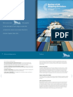 Committee on Climate Change (2011), Review of UK Shipping Emissions