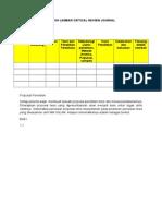 Form Critical Review Jurnal