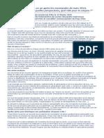 Cercle Condorcet Aix - 12 Février 2015 - Intervention de Lucien-Alexandre Castronovo
