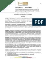 Proyecto de Ley 203 de 2015 Experimentación