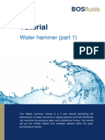 Water Hammer Tutorial