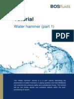 Water Hammer Tutorial