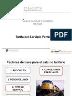 03 Pricing-Tarifa Del Servicio Ferroviario