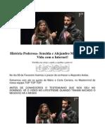 História Poderosa- Seneida e Alejandro Mudaram a Sua Vida Com a Internet!