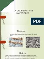 El Concreto y Sus Materiales