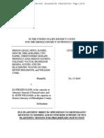 PLN, et al Response to Defendants' Motions