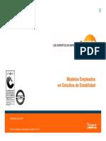 Modulo 2 - Modelos Empleados en Estudios de Estabilidad