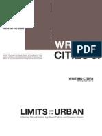 Writing Cities Vol. 03