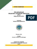 PANDUAN PLI D3 & S1 Jurusan Teknik Pertambangan Edisi Revisi 2014
