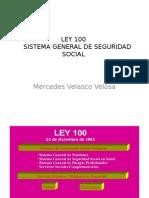 Ley 100 Sistema General de Seguridad Social