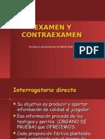 EXAMEN Y CONTRAEXAMEN.ppt