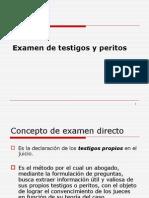 6.- Examen y contraexamen de testigos y peritos.ppt