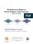 Family Violence Council Report FY 2012-13