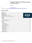 Java & Struts2 & Spring & Hibernate & Eclipse Tutorial