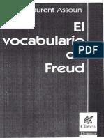 Assoun Paul-Laurent, El vocabulario de Freud.pdf