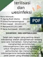 Sterilisasi Dan Desinfeksi Akper IA
