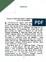 Tagbanwa Bible - Genesis 1.pdf