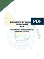 Programa I Semestre BCH-2014 Ultimo7