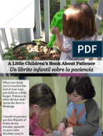 Un Librito Infantil Sobre La Paciencia - A Little Children's Book About Patience