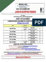 CALENDARIO AA Jurispruedencia y CCSS I 2015 Inscripciones