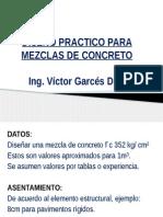 Diseño de Mezclas Vgd