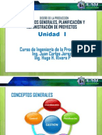 PRESENTACIÓN01 Conceptos Generales Admon y Plan. de Proyectos