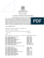Edital 18 2014 Classif Final Professor