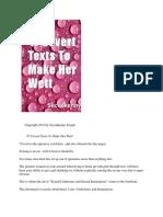 47 Covert Texts to Make Her Wett
