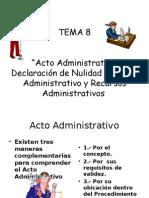 actos administrativos TEMA 5
