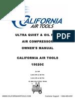 California Air Tools 15020C Owner's Manual 10-14