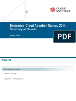 2014 Enterprise Cloud Adoption Survey