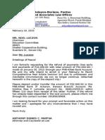 Request for Refund PAREB Davao