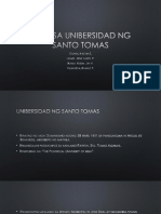 Rizal Sa Unibersidad Ng Santo Tomas